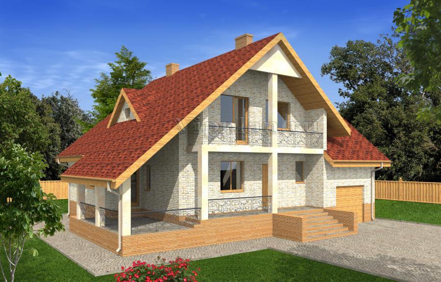Проекты дачных домов и коттеджей Проекты маленьких